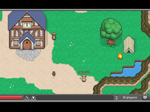BrowserQuest Screenshot