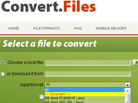 Convert Files Screenshot