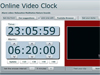 Online Video Clock