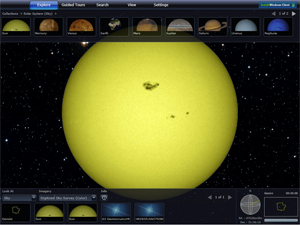 WorldWide Telescope Screenshot
