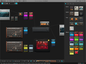 Burnstudios Audiotool Screenshot