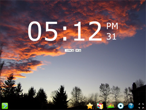 Onlive Clock Screenshot