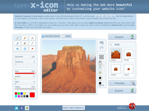 X-Icon Editor Screenshot