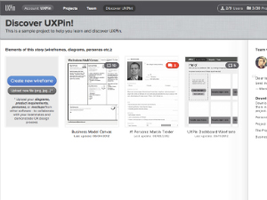 UXPin Screenshot
