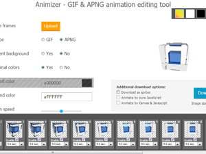 Animizer.net Screenshot