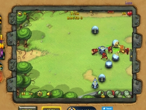 Fieldrunners Screenshot