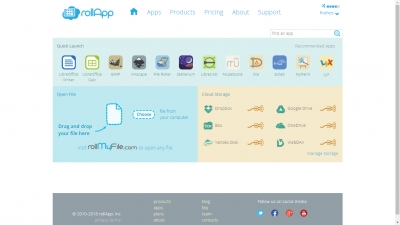 rollApp Screenshot