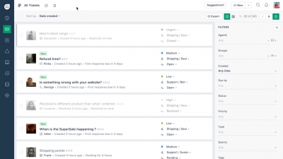 Freshdesk Screenshot