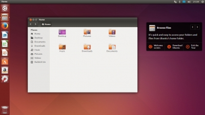 Ubuntu Tour Screenshot